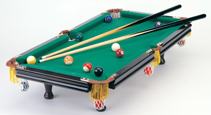 Deluxe Tabletop Mini Pool Table