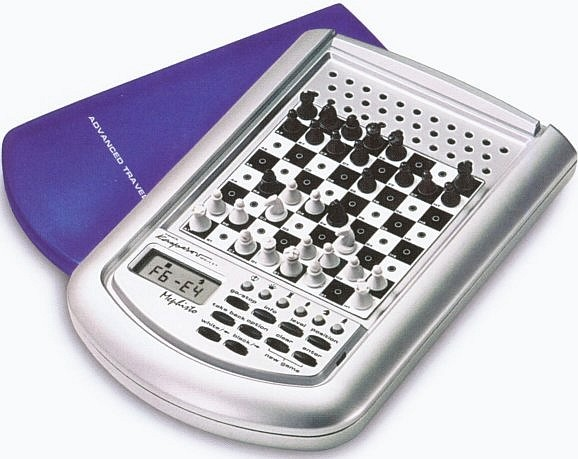 Saitek Mephisto Advanced Travel Chess Computer Game