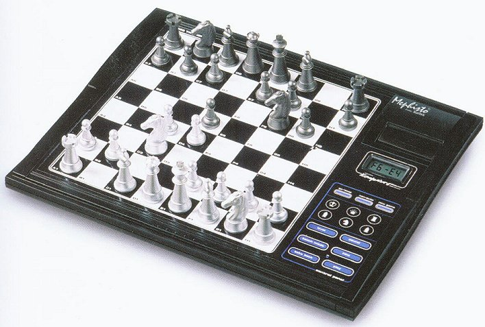 Learn Chess with the Mephisto Chess Trainer Computer by Saitek