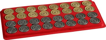 Italian Metal Backgammon Checkers.