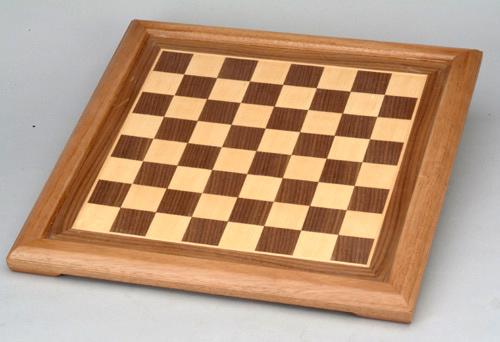 Walnut Wood Chess Board.