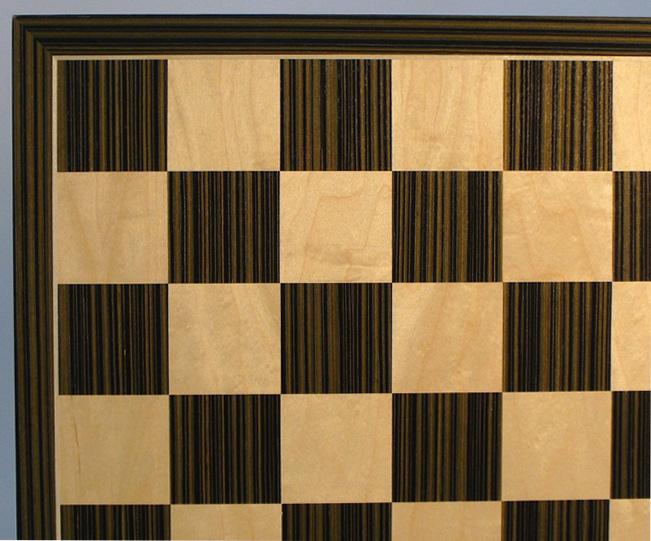 Ebony & Maple Chessboard