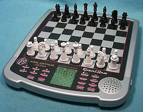 Excalibur King Master III.  Table-Top Computer Chess Set.