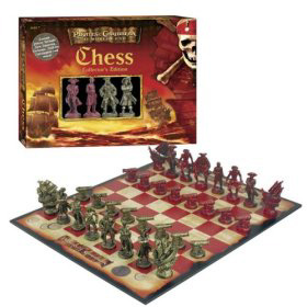 Pirates of The Caribbean Themed Chess Set