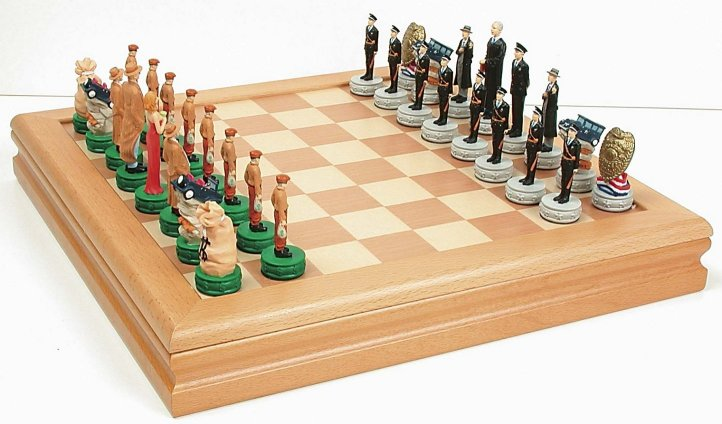 28 cheap chess sets sk 26 16 inch ebonised classic - Inexpensive chess sets ...