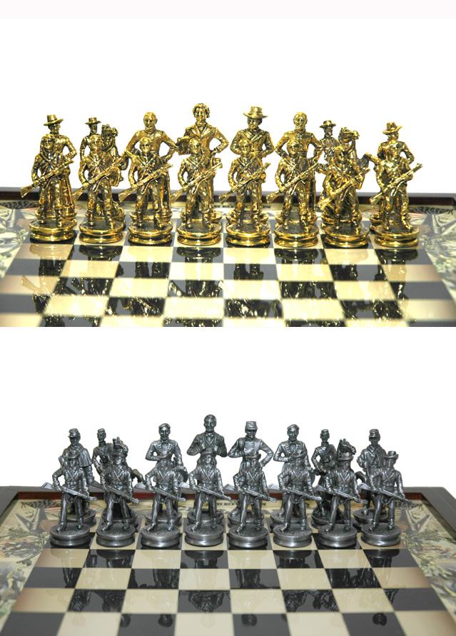 Civil War Themed Chess Set