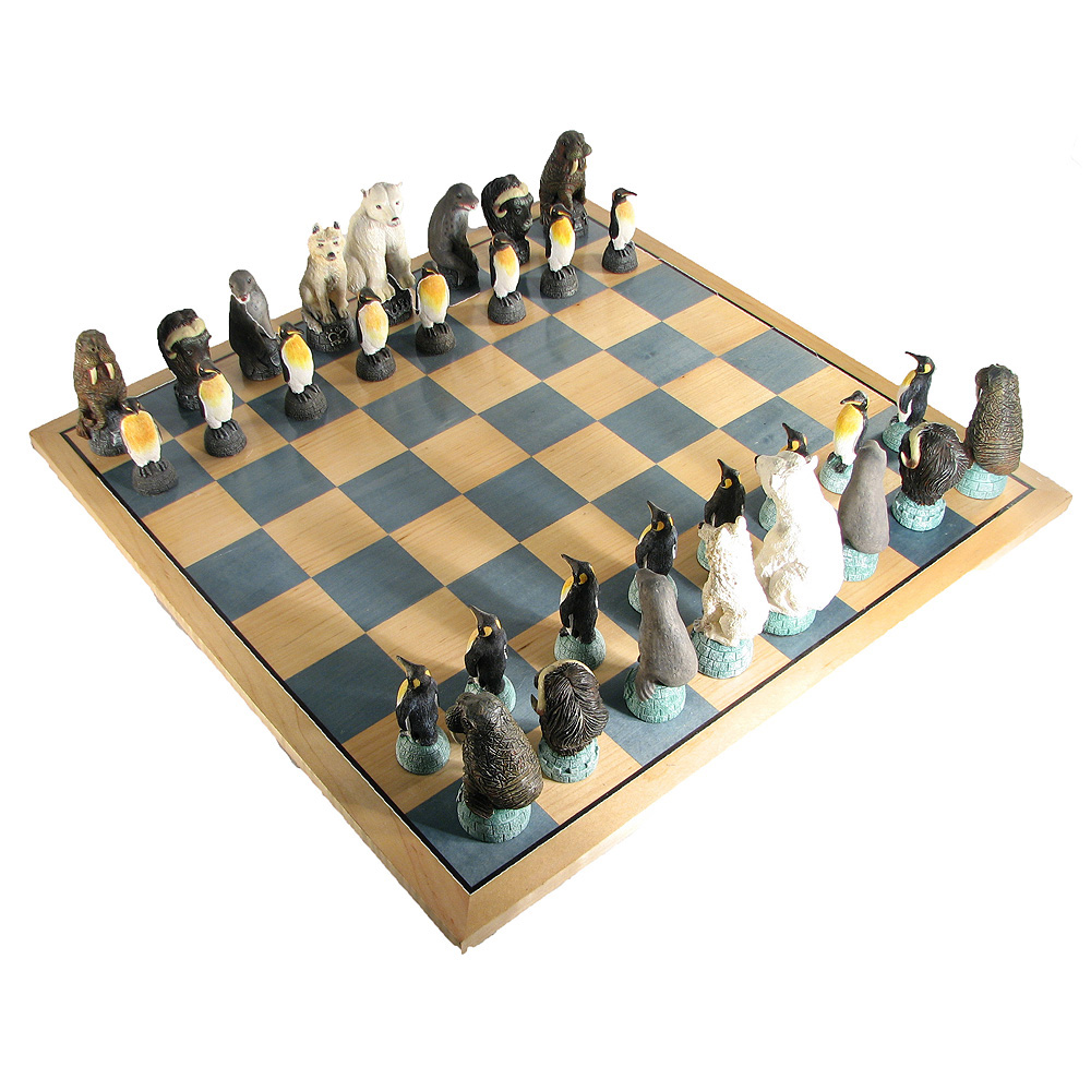 Glaciar Hand Crafted Chess Set