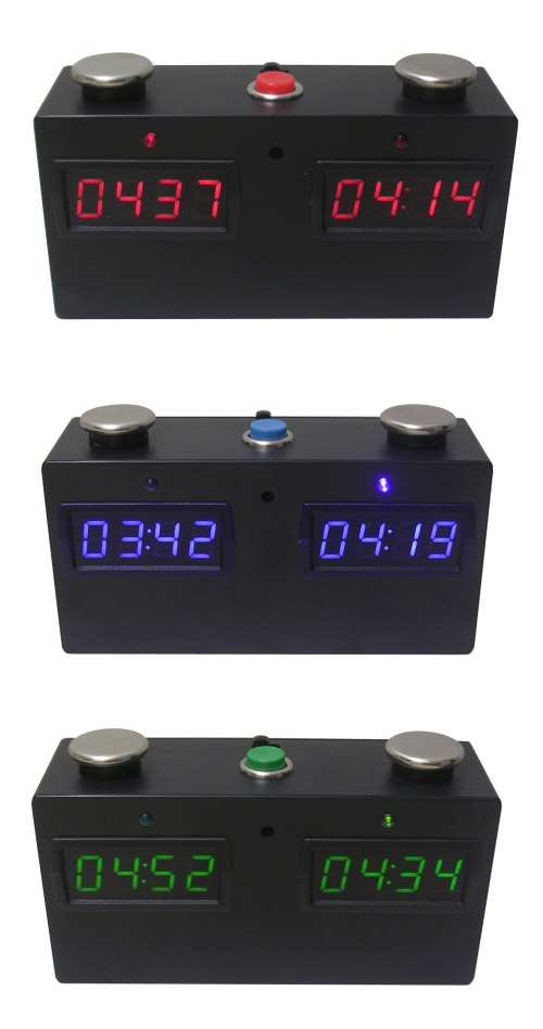 Zmart Fun Digital Chess Clock in Three Different Colors