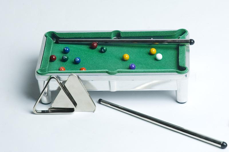 Aluminum Mini Pool Table - Aluminum pool table