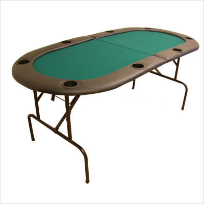 73 Inch Two Fold Poker Table