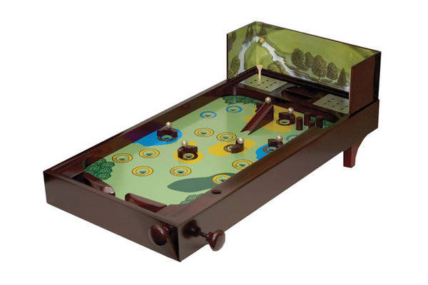 Wooden Golf Pinball Game