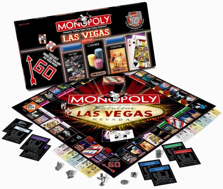 Las Vegas Monopoly Game - Collector's Edition