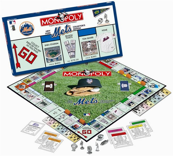 New York Mets Monopoly Collector's Edition