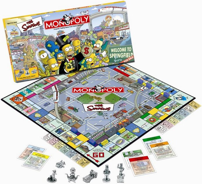 The Simpsons Monopoly Game, Collector's Edition