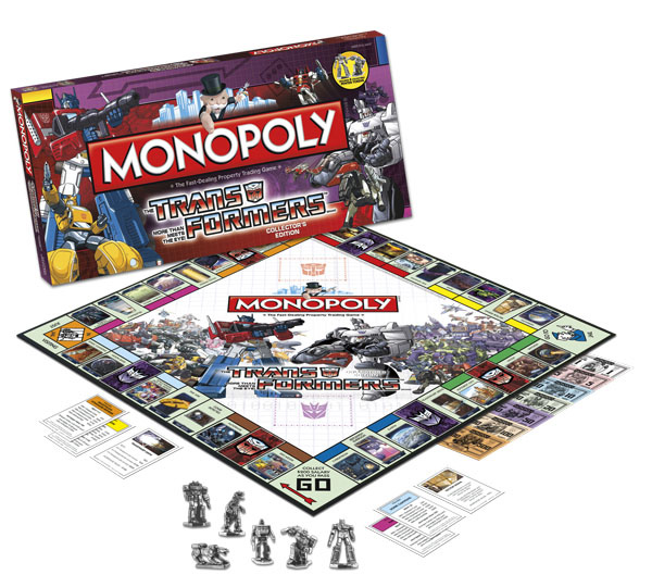 Transformers II Monopoly Game