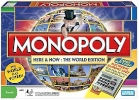 World Edition Monopoly Game.
