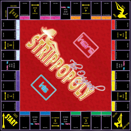Strippology Board Game