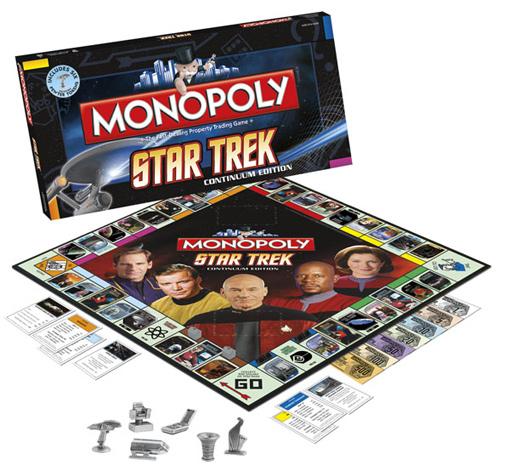 Star Trek Continuum 2009 Monopoly Game