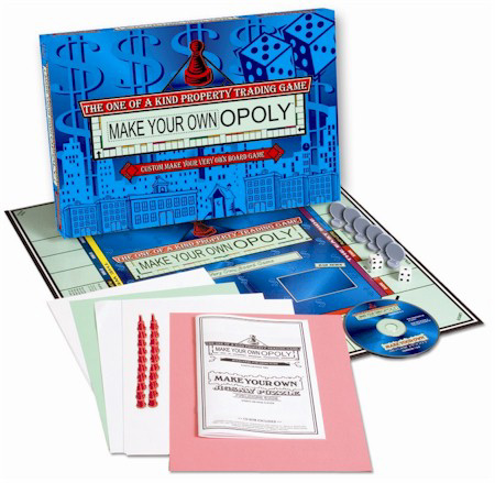 Make Your Own - Opoly Board Game