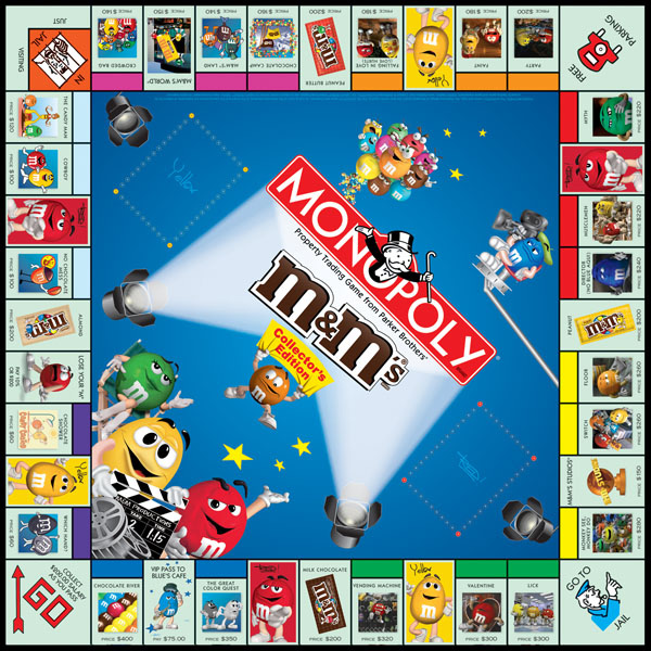 M&M'S Monopoly Game