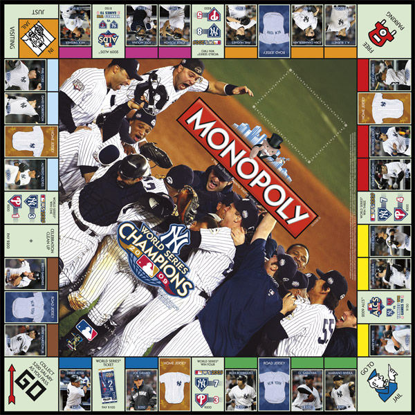Collector's Edition, New York Yankees Monopoly Game