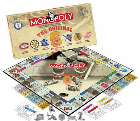 NHL Original 6 Monopoly Collector's Edition