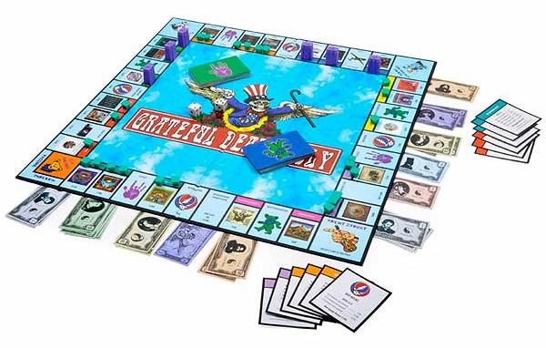 Grateful Deadopoly Board Game.