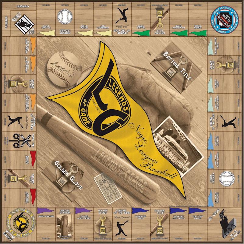 Negro & Latin Baseball Legendary Leagues Opoly Board Game.