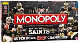 New Orleans Saints Super Bowl 44 Monopoly Game