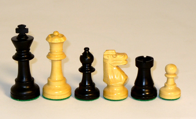 3 inch French Knight Staunton Chess Pieces