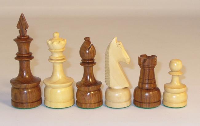 Philipine Style Sheesham & Boxwood Chessmen Set.
