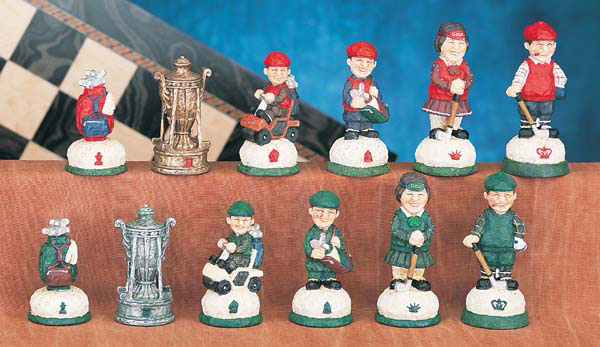 King Arthur and the Knights of The Round Table Theme Chess Pieces