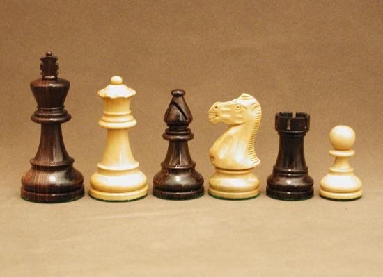 Classic Staunton Rosewood Chessmen Set.