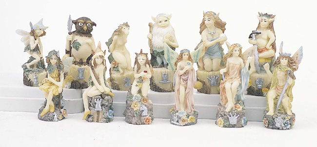 Faryland Polyresin Chess Pieces.
