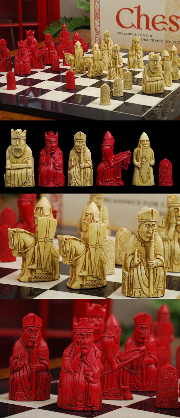 Red Isle of Lewis  Chessmen.