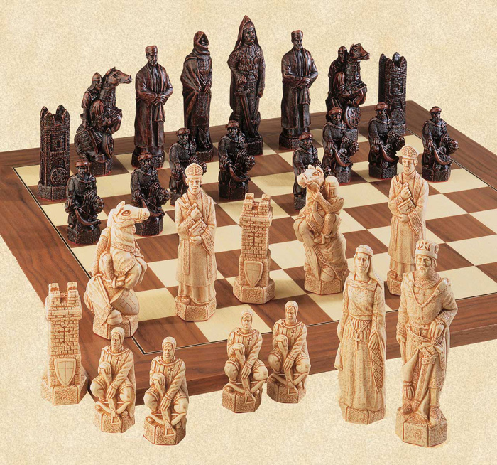 The Crusades Chessmen Set