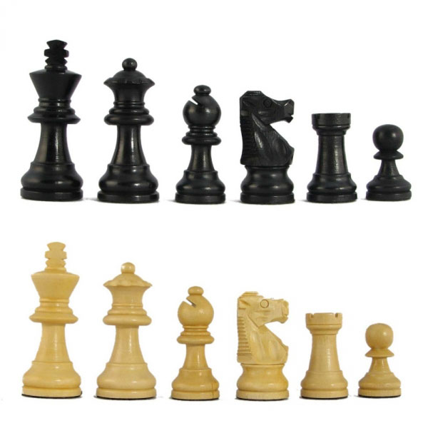 MoV Ebonized Executive Chess Pieces