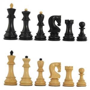 Mark of Westminster Ebonized Chessmen Set