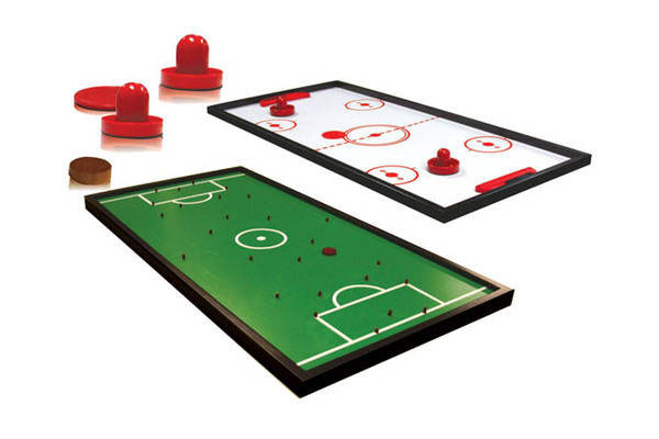 Double Sided Add On with Finger Soccer and Slid Hockey