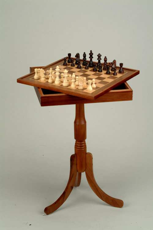 29 Quot H Tournament Chess Amp Checkers Pedestal Chess Table